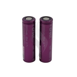 Accessoires Efest 18650 Batterij 3000 mah X2