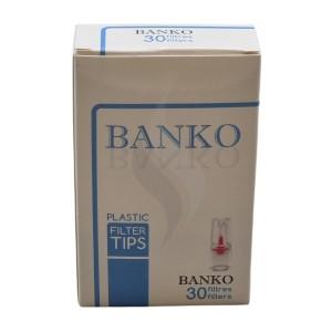 Filtres à cigarettes Banko Plastic Filter Tips