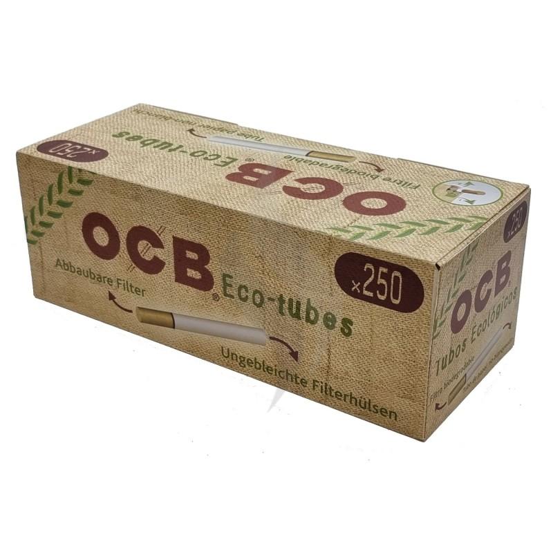 Cigarette filter tubes OCB 250 Eco Tubes