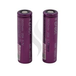 Accessoires Efest 18650 Batterij 3500 mah X2