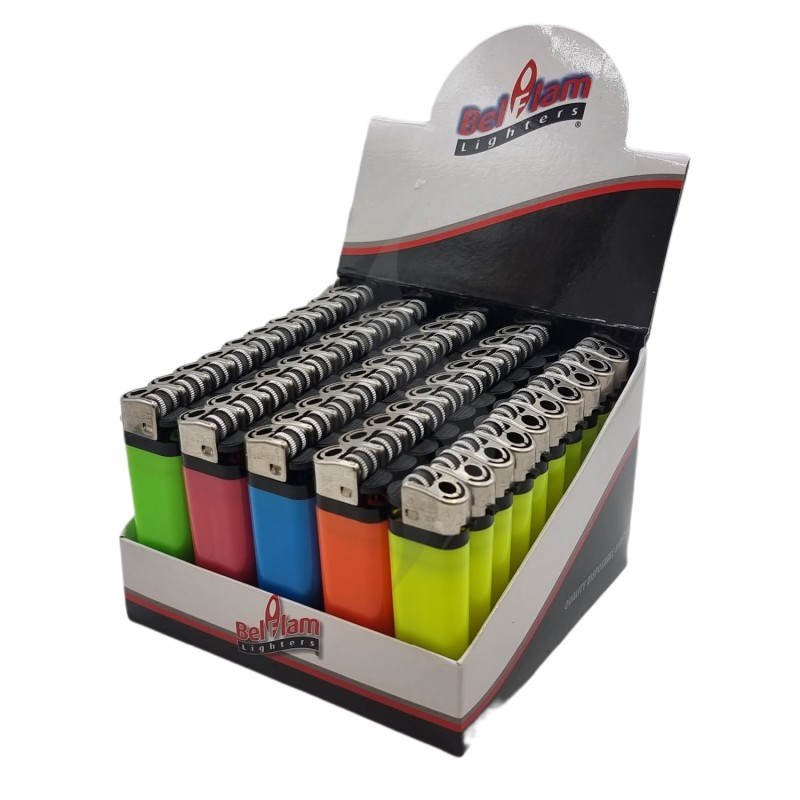 Briquets Briquets colorés jetables Belflam Neon X50