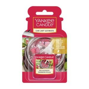 Yankee Candle Parfum Voiture Car Jar Ultimate Framboise Rouge