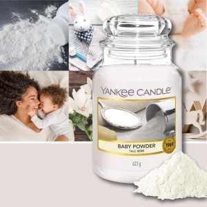 Candles Baby Powder