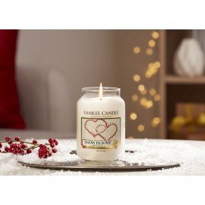 Candles Snow In Love