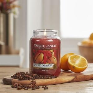 Bougies Orange Épicée