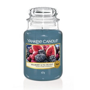 Yankee Candle Bougies Figues et Mûres Gourmandes
