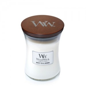 Candles WoodWick White Tea & Jasmine