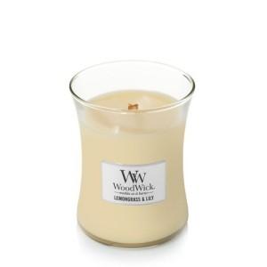 WoodWick Bougies Citronnelle & Lys