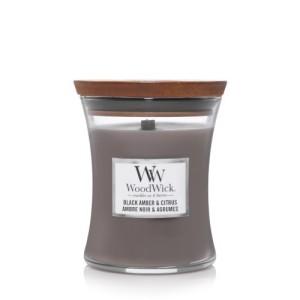 WoodWick Candles Black Amber & Citrus