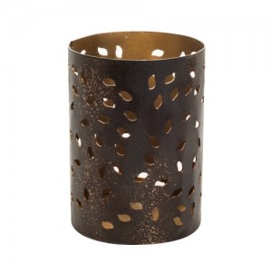 Accessoires Petite Candle holder Glowing leaf