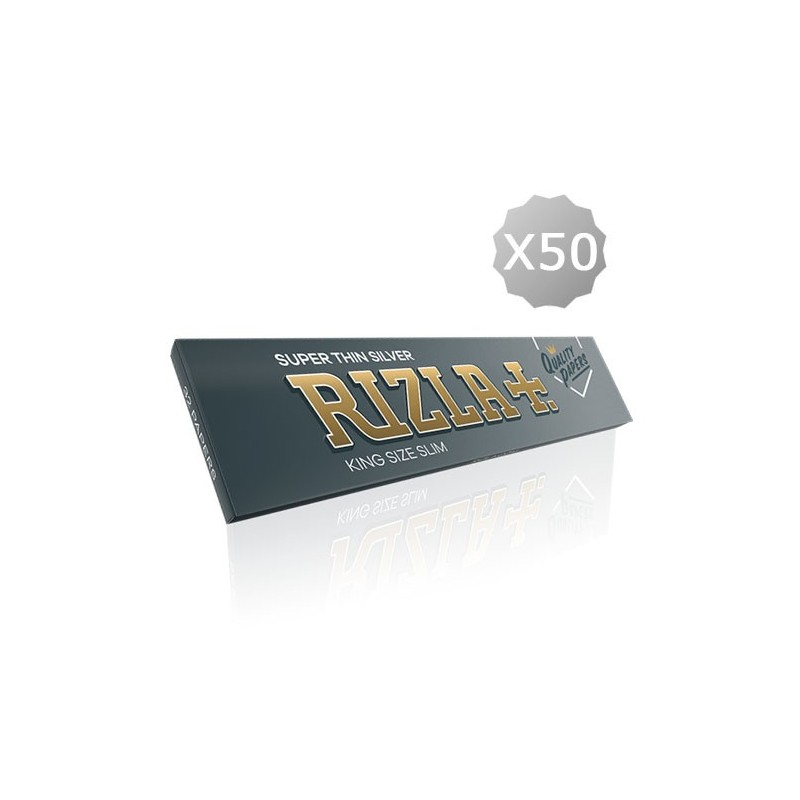 Rolling Papers King Size Rizla + Super Thin Silver King Size