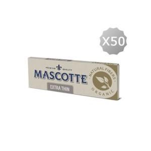 Papier à Rouler Regular Mascotte Extra Thin Unbleached