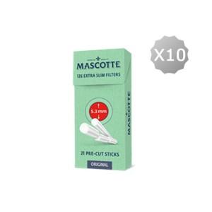 Cigarette Filtertips Mascotte Extra Slim Filters Stick