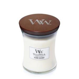WoodWick Bougies Noix de Coco des Iles
