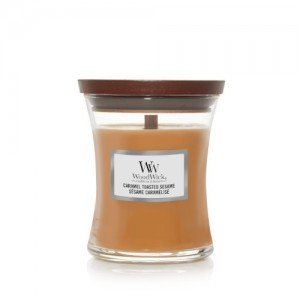 WoodWick Candles Caramel Toasted Sesame