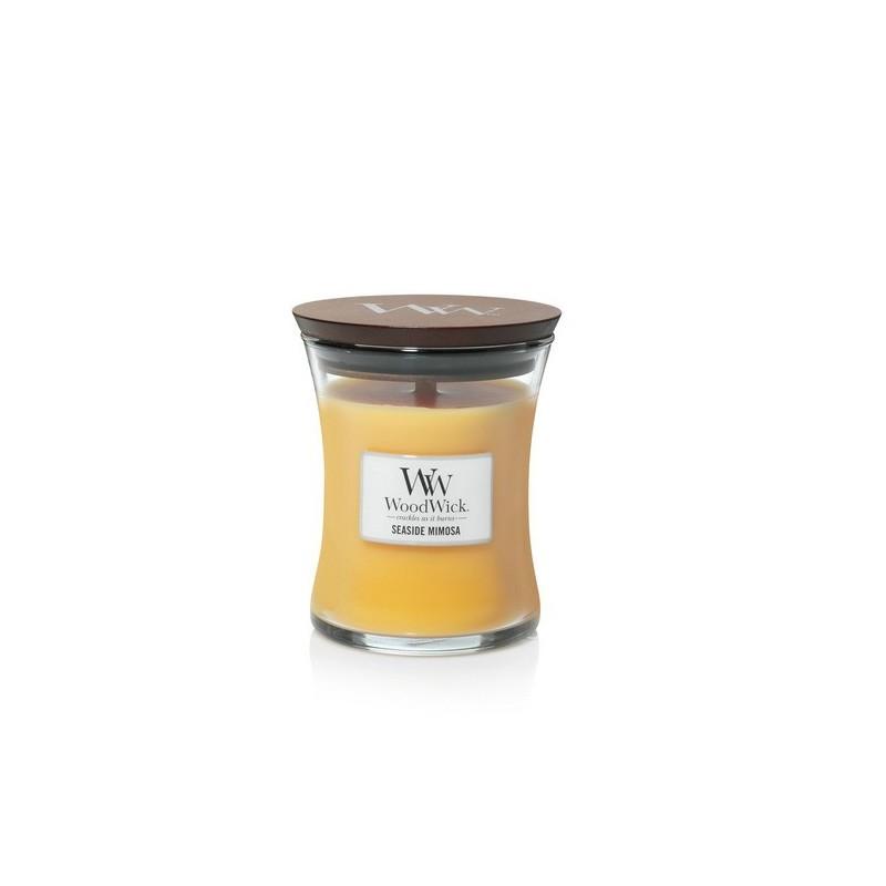 WoodWick Bougies Mimosa En Bord De Mer