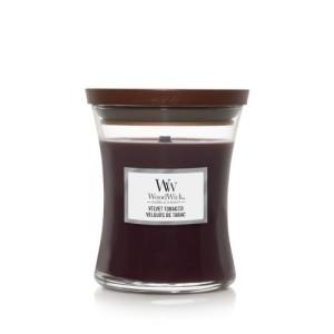 WoodWick Bougies Velours De Tabac