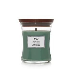 WoodWick Bougies Sauge & Myrrhe