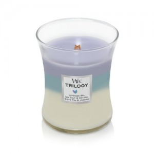 WoodWick Trilogy Candles Calming Retreat