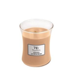 WoodWick Candles Golden Milk