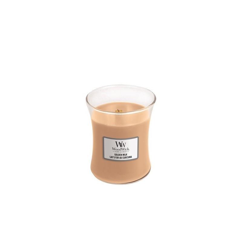 WoodWick Kaarsen Golden Milk