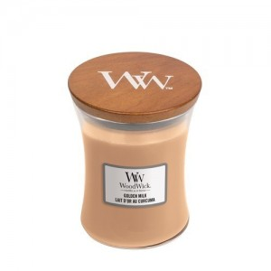 WoodWick Bougies Lait D'Or Au Curcuma