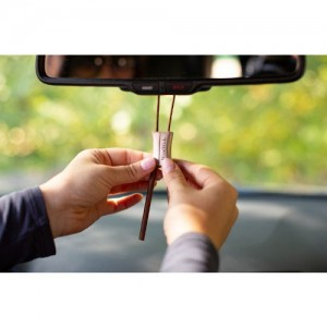 WoodWick Parfum Voiture Auto Reed Refill Gousse de vanille