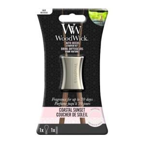 WoodWick Parfum Voiture Kit Démarrage Coucher de Soleil