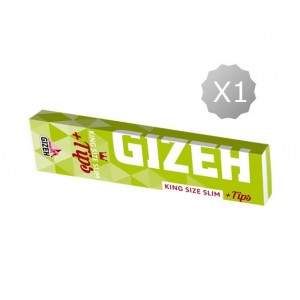 Vloeitjes King Size + Tips Gizeh Super Fine King Size Slim + Tips