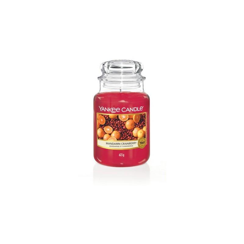 Yankee Candle Bougies Mandarine et Canneberge