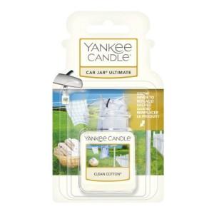 Yankee Candle Parfum Voiture Car Jar Ultimate Clean Cotton