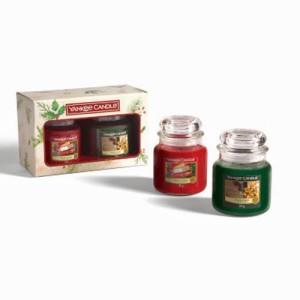 Yankee Candle Coffret Cadeau Magical Christmas Morning 2 Medium Jars