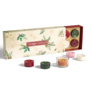 Yankee Candle Coffret Cadeau Magical Christmas Morning 10 Tea Lights & 1 Holder