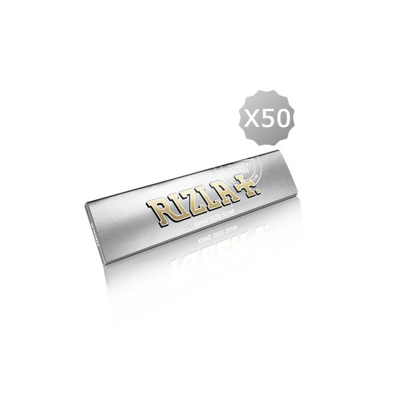 Rolling Papers King Size Rizla + Super Thin Silver KS (old)