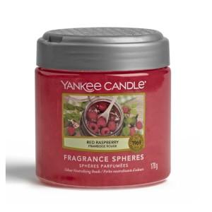 Yankee Candle Sphères parfumées Framboise Rouge