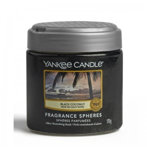 Yankee Candle Sphères parfumées Noix De Coco Noir