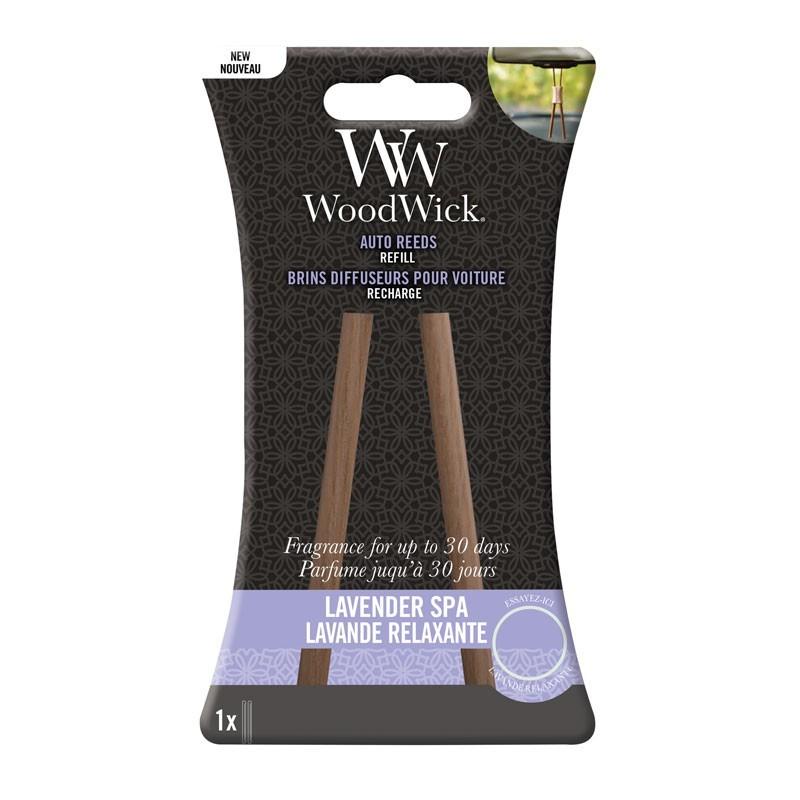 WoodWick Autoparfum Navulling Lavender Spa