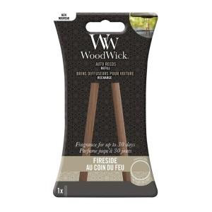 WoodWick Parfum Voiture Recharge Au Coin Du Feu