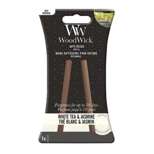 WoodWick Parfum Voiture Recharge Thé Blanc Et Jasmin
