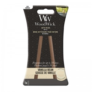 WoodWick Autoparfum Auto Reed Refill Vanilla Bean