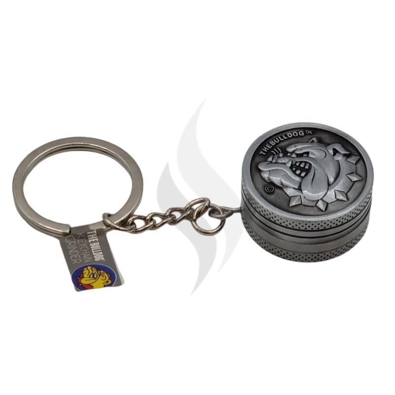 Grinder & Weegschaal Grinder Bulldog Keychain 30mm