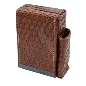Sigarettendoosjes Angelo Box Design Brown With Lighter