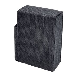 Boîtes à cigarettes Angelo Box Design Tissu Black With Lighter