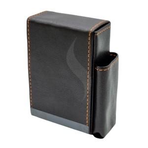 Sigarettendoosjes Angelo Box Design Black With Lighter