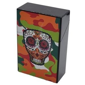 Boîtes à cigarettes Box Color Skull