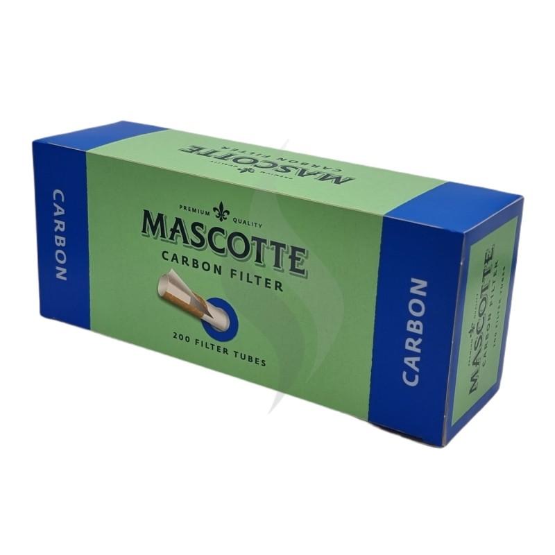 Sigaretten filterhulzen Mascotte Carbon 200 Hulzen