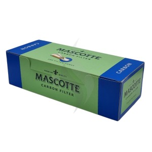 Cigarette filter tubes Mascotte Carbon 200 Tubes