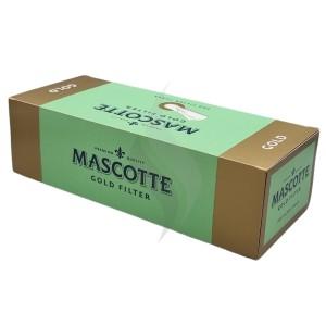Sigaretten filterhulzen Mascotte Gold 200 Hulzen