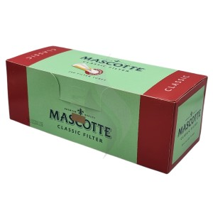 Sigaretten filterhulzen Mascotte Classic 250 Hulzen