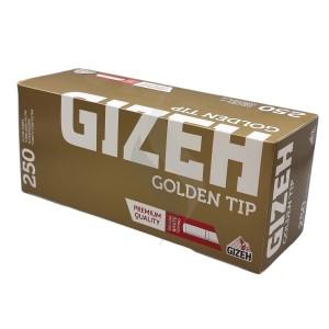 Cigarette filter tubes Gizeh Golden Tip 250 Tubes